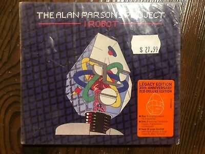 The Alan Parsons Project-I Robot-CD NEW SEALED 2CD EDITION 35TH ANNIVERSARY