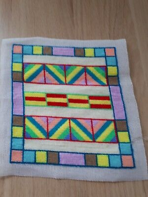 Tapestry ..... Colourful tapestry hand made by me