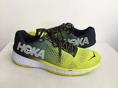 quality design 5fe54 d28f7 NEW! MEN'S HOKA One One Cavu Sulphur/Anthracite Yellow Running Shoes