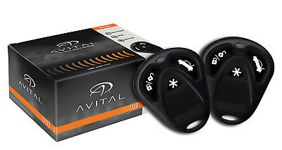 Avital 3100LX Car Alarm Security System 2 Remotes 1500 Feet Range Siren NEW