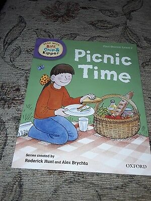 Biff, Chip And Kipper books first stories: Level 2 - Picnic Time
