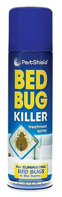 Pest Control Bed Bug Killer Aerosol Treatment Spray Eliminate Home Bed 200ml New