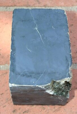 Almost 4 LB  Black Nephrite Jade Wyoming? ~ Old Estate Rock Collection ~ USA