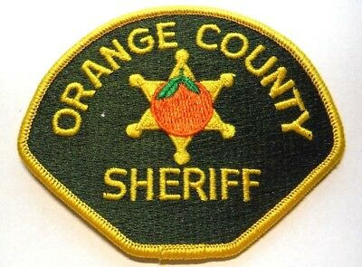 Old Orange County California Sheriff Patch Unused