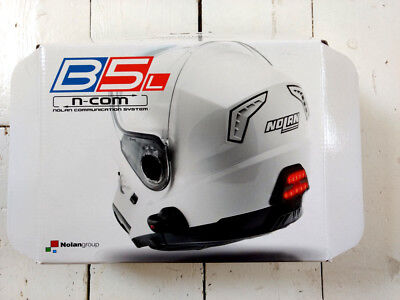 Nolan N-COM B5L integrated motorcycle headset with bluetooth and brake-light