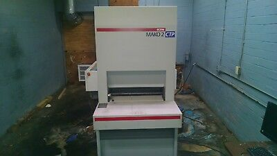 Ecrm Mako Ctp Plate Setter W/ Processor And Uninteruptable Power Suppy