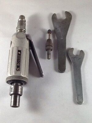 """Dotco Die Grinder MDL. 1000A 30,000 RPM 1/4"""" Collet / 1/8"""" Collet / Wrenches"""