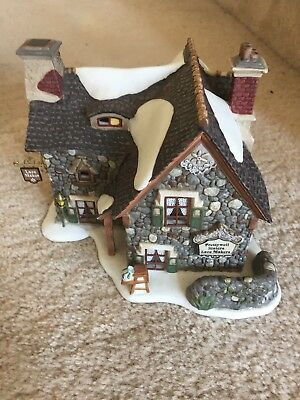 Department 56 Dickens Village Prettywell Sisters LACE MAKERS Cottage Retired