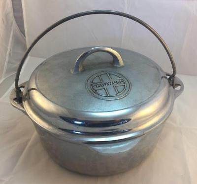 Griswold Cast Iron Chrome 8 Tite Top Dutch Oven  1278A Self Basting Lid 1288