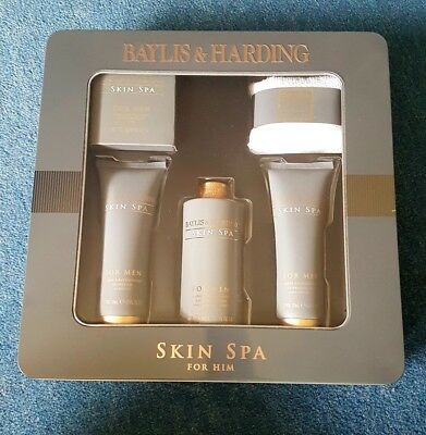 Baylis & Harding Amber & Sandalwood Skin Spa for Him