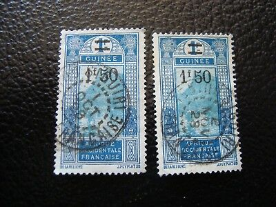 GUINEA - stamp yvert/tellier n° 103 x2 cancelled (A18) (R)