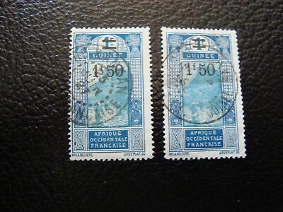 GUINEA - stamp yvert/tellier n° 103 x2 cancelled (A18) (A)