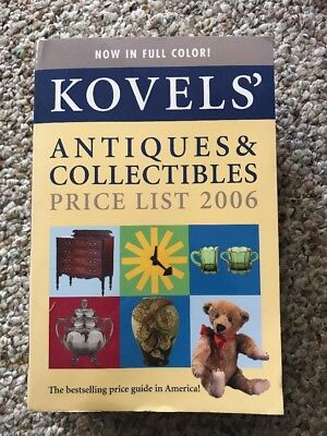 Used Kovels' Antiques & Collectibles price list 2006