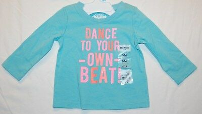 NWT OshKosh 6 months L/S Shirt Dance to your own beat