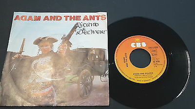"Single 7"" Vinyl ADAM AND THE ANTS Stand and Deliver CBS A 1065"