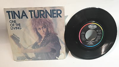 "Single 7"" Vinyl Tina Turner One of the Living 1C006-20 0843 7"
