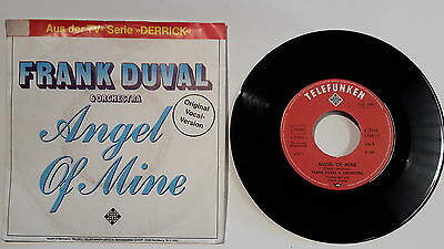 "Single 7"" Vinyl Frank Duval & Orchestra Angel of mine Magdalena Vocal Version"