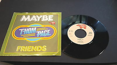"Single 7"" Vinyl Thom Pace Maybe  Friends 2090 361"