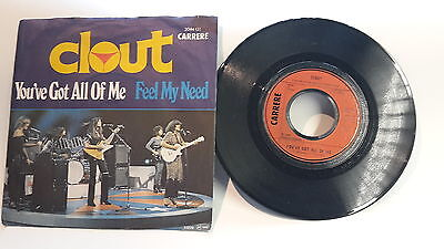 "Single 7"" Vinyl Clout Youve Got All Of Me 2044 131"