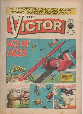 The Victor 116 Very Fine 11Th May 1963 Dc Thomson Uk Comic