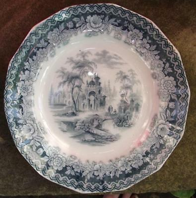English North East St Anthony's Pottery Sewell Pottery Plate Spoletto Patt NE