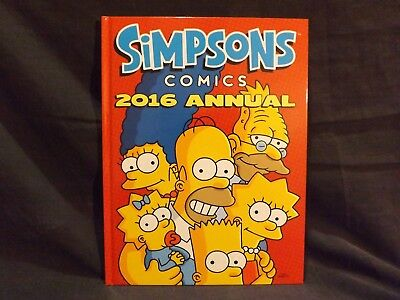 Simpsons Comics 2016 Annual Book. New Never Read.