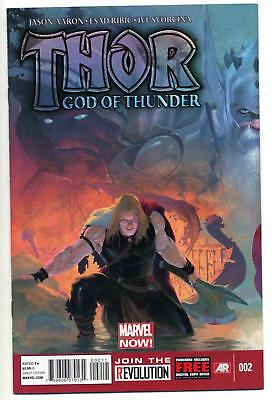 THOR GOD OF THUNDER #2 1st GORR & NECROSWORD SYMBIOTE GOD NM VENOM HOT KEY ISSUE