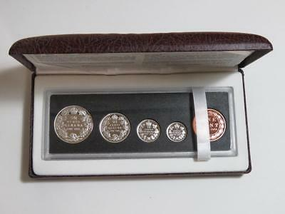 1908-1998 Canada 90th Anniversary Proof Coin Set - 925 Sterling