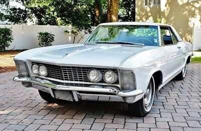 1963 Buick Riviera Coupe Stunning Example 1963 Buick Riviera All Original, A/C, 401 Engine, 59k Actual Miles,