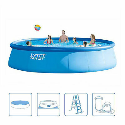 Intex 28176BS Easyset Round Swimming Pool Extra Large 5.49m x 122cm High Garden