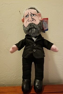 President Ulysses S Grant Sugarloaf 17 inch Plush Doll with Attached Tag RARE