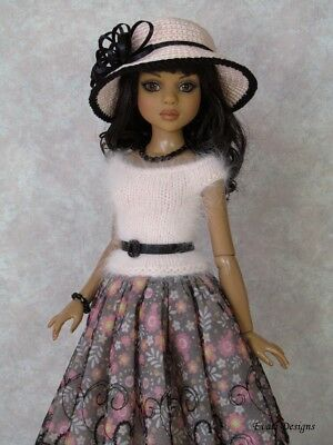 *evati* OOAK outfit for ELLOWYNE WILDE * AMBER * LIZETTE * Tonner *1