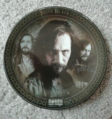 Harry Potter And The Prisoner Of Azkaban Collectors Plate.Sirius Black