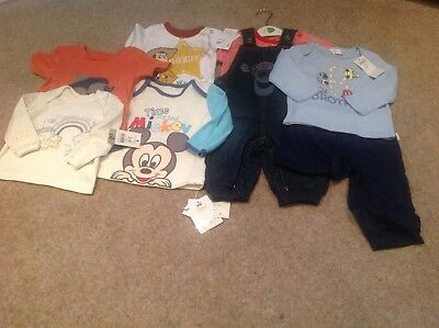 New with tags small joblot of baby boys clothes 3-6 months