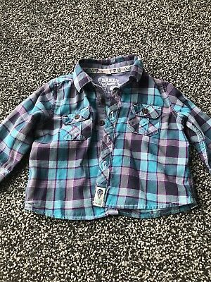 Ted Baker Checked Baby boy Shirt 3-6 Months