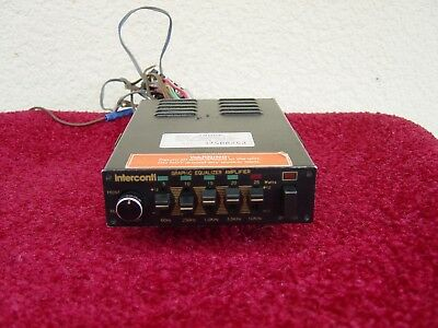 """Interconti Graphic Equalizer """"48066""""  Old- Youngtimer, kein Blaupunkt ( EQ 01 )"""