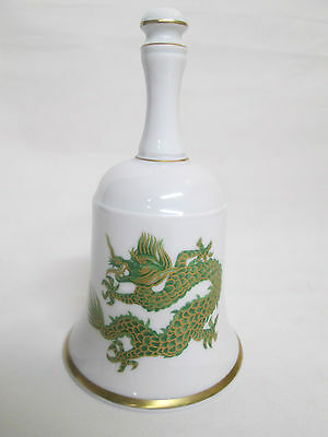 House of Goebel Bavaria W. Germany bell green dragon