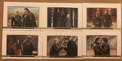 Game Of Thrones - Season 7: Relationships Chase Cards - Full Set