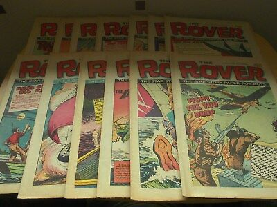 The Rover 13 copies April 1st ----June 24th 1972