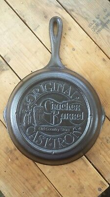 """Cracker Barrel Old Country Store Cast Iron Skillet Lodge #5 - 8-1/4"""""""