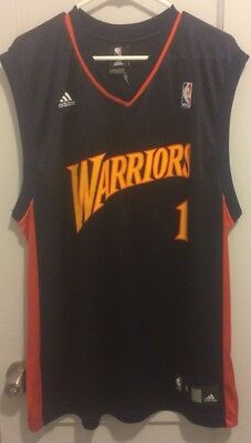 ffa1c058ea7 Stephen Jackson Golden State Warriors NBA Jersey Adidas Men L #1 Davis  Curry Vtg