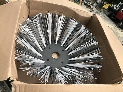 Steel Wafer Replacement Gutter Brush for MASCO Pick-Up Broom Attachment