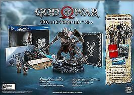 God of War: Collector's Edition, STATUE AND OTHER COLLECTIBLES INCLUDED