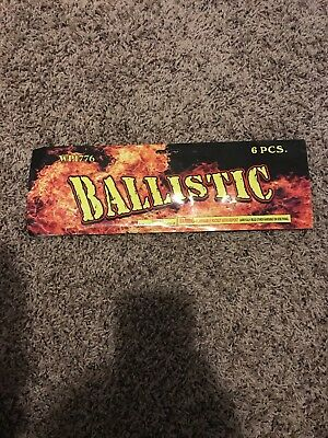 firework label collectables Label only artwork ballistic