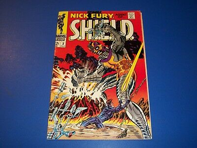 Nick Fury Agent of Shield #2 Silver Age Fine Steranko