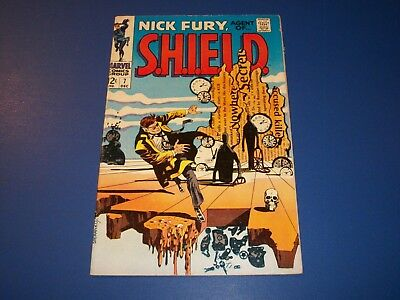 Nick Fury Agent of Shield #7 Silver Age Steranko Fine Wow