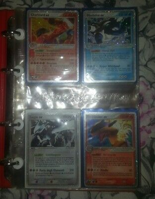 Pokemon Charizard ex, Lugia ex, shining Magikarp, suicune, Ho-oh and others