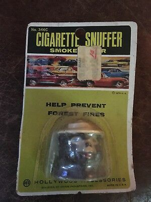 1970 SMOKEY The BEAR CIGARETTE SNUFFER MINT ON CARD IN PACKAGE