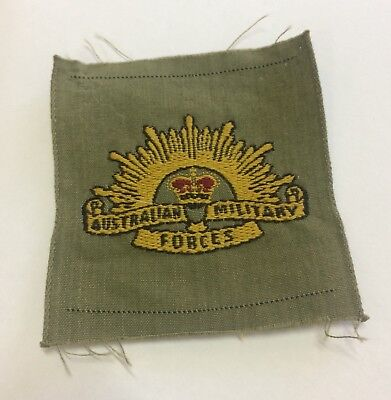 Vietnam War Era Australian Military Forces Rising Sun Badge Patch