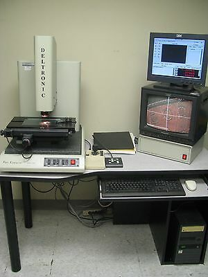 "Deltronic DVC-120 Video/Vision Measuring Machine .00005"" MPC-6"
